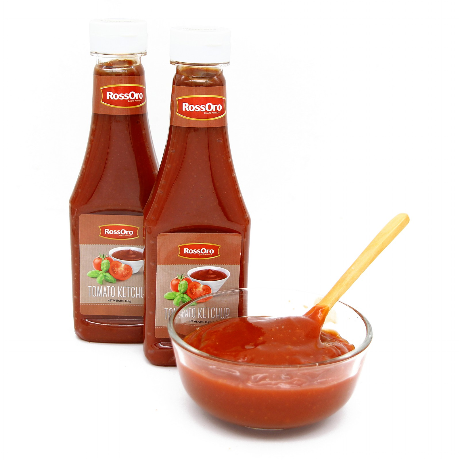 Tomato ketchup in bottle